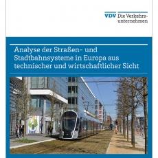 Buch: Analyse der Straßen- und Stadtbahnsysteme in Europa aus technischer und wirtschaftlicher Sicht