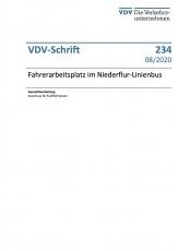 VDV-Schrift 234 Fahrerarbeitsplatz im Niederflur-Linienbus