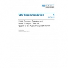 VDV-Schrift 4 Public Transport Development, Public Transport Offer and ... [Print]