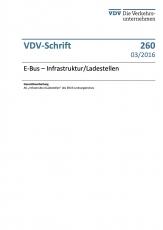 VDV-Schrift 260 E-Bus Infrastruktur / Ladestellen [PDF Datei]