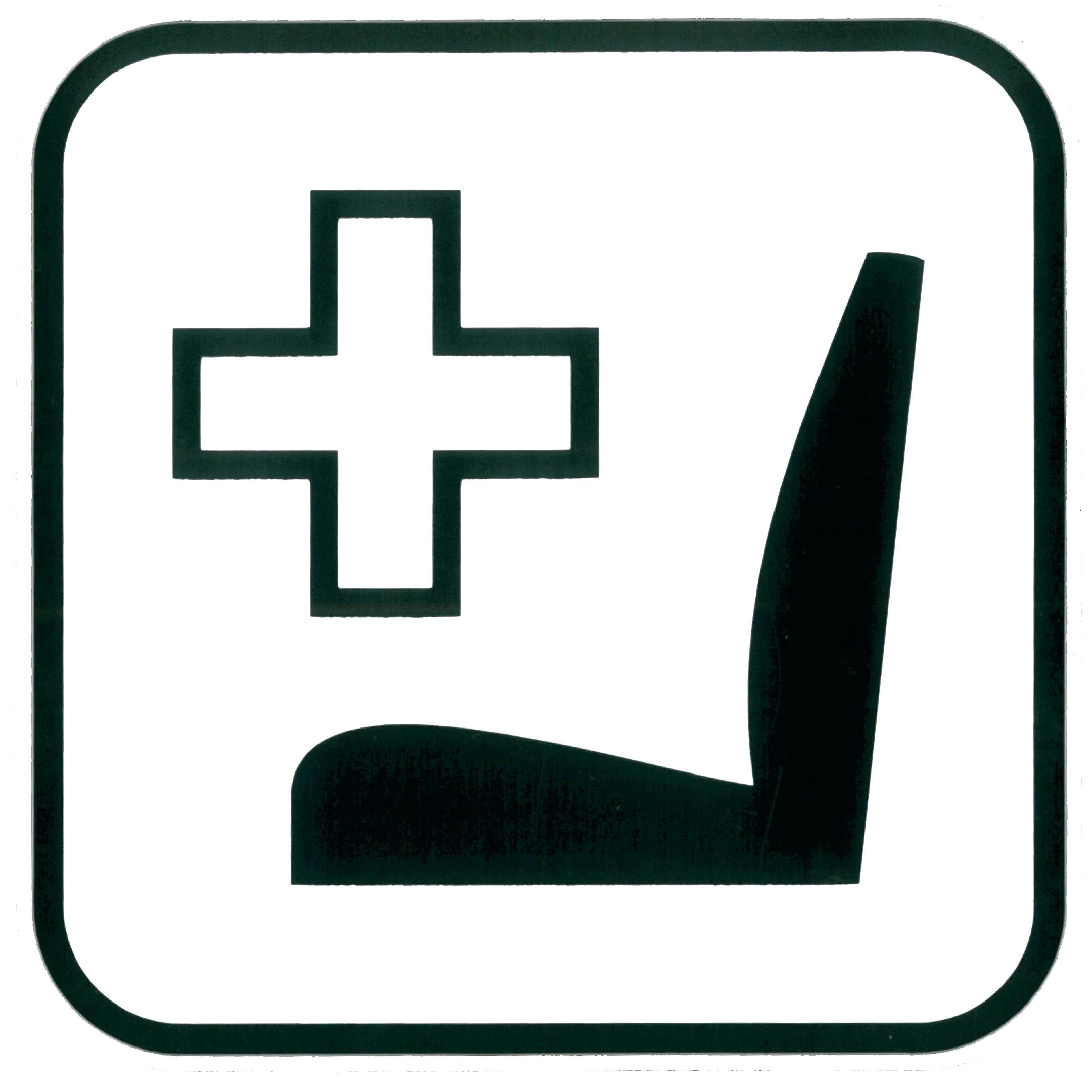 Piktogramm V20380: Schwerbehinderten - Sitzplatz