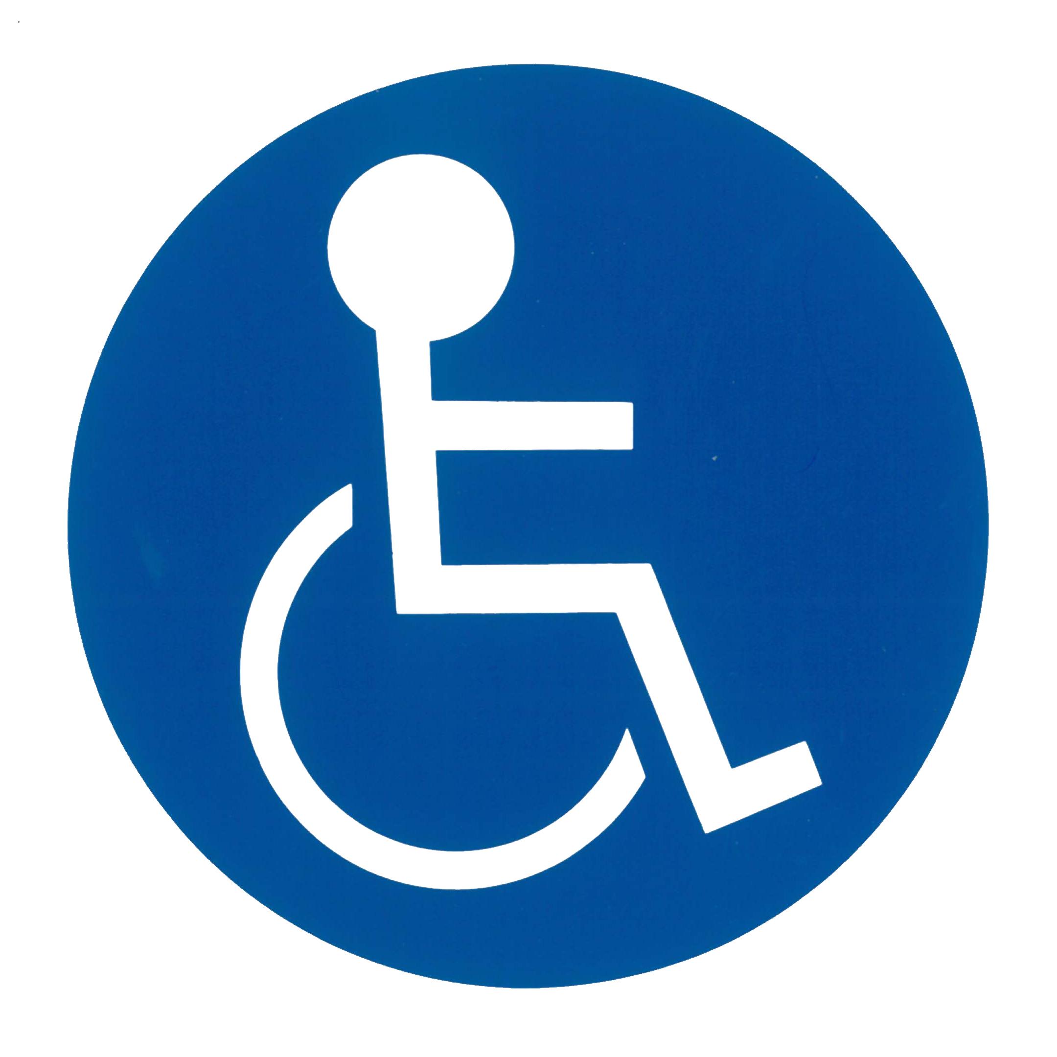 Piktogramm V20750B: Körperbehinderte aller Art