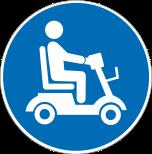 Piktogramm V20781: E-Scooter