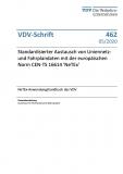 VDV-Schrift 462 Standrdisierter Austausch von Liniennetz- und Fahrplandaten [eBook]
