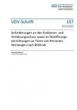 VDV-Schrift 157 Anforderungen an den Einklemmen-und Verletzungsschutz [eBook]