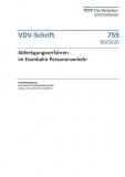 VDV-Schrift 759 Abfertigungsverfahren im Eisenbahn-Personenverkehr [Print]