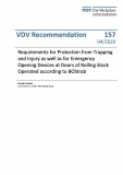 VDV-Schrift 157 Requirements for Protection from Trapping and Injuri as well as for Emergency [eBook]