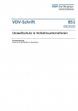 VDV-Schrift 851 Umweltschutz in Verkehrsunternehmen [eBook]