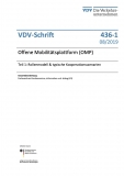 VDV-Schrift 436-1 Offene Mobilitätsplattform (OMP) eBook
