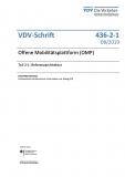 VDV-Schrift 436-2-1 Offene Mobilitätsplattfor (OMP) Teil 2-1 eBook