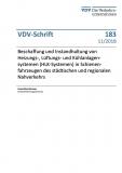 VDV-Schrift 183 Beschaffung und Instandhaltug von Heizuns-,Lüftungs- und Kühlanlagensystemen....[Print]