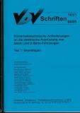 VDV-Schrift 161_1 Sicherheitstechnische Anforderungen an elektrische Ausrüstung
