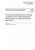 VDV-Schrift 183 Procurement and Maintenance of Heating, Ventilation and Air Conditioning Systems......[Print]