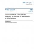 VDV-Schrift 825 Auswirkungen der ,,Clean Vehicles Directive im Linienbus auf Btriebshöfe und Werkstätten [eBook]