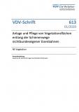 VDV-Schrift 613 Anlage und Pflege von Vegetationsflaechen entlang der Schienenwege nichtbundeseigener Eisenbahnen [PDF Datei]