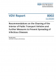 """VDV Report 8002: """"Recommendations on the Cleaning of the Interior of Public Transport Vehicles ......[Print]"""