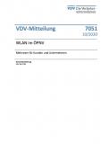 VDV-Mitteilung 7051 WLAN im ÖPNV – Mehrwert für Kunden und Unternehmen [PDF Datei]