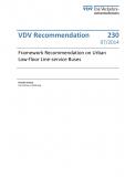 VDV-Schrift 230 Framework Recommendation on Urban Low-floor Line-service Buses [PDF Datei]