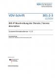 VDV-Schrift 301-2-3 IBIS-IP Beschreibung der Dienste / Service description –CustomerInformationService - V 2.3 [PDF Datei]