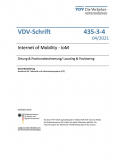 VDV-Schrift 435-3-4: Internet of Mobility - IoM – Ortung & Positionsbestimmung/ Locating & Positioning [PDF]