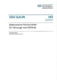VDV-Schrift 165 Elektronische Fahrzeugschreiber für Fahrzeuge nach BOStrab [Print]