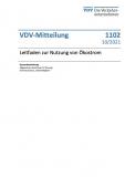 VDV-Mitteilung 1102: Leitfaden zur Nutzung von Ökostrom