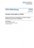 VDV-Mitteilung Nr. 9724: Flexible Tarifmodelle im ÖPNV [Print]