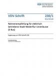 VDV-Schrift 230_1 Rahmenempf. f. elektrisch betriebene Stadt-Niederflur-Linienbusse (E-Bus) [Print]