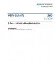 VDV-Schrift 260 E-Bus Infrastruktur / Ladestellen [eBook]