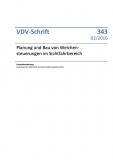 VDV-Schrift 343 Planung und Bau von Weichensteuerung im Sichtfahrbereich [Print]