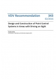 VDV-Schrift 343 Design a. Construction of Point Control Systems in Areas with Driving .... [Print]
