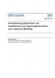 VDV-Schrift 347 Instandhaltung (Abnahmen und Inspektionen) von Zugortungselemente (BOStrab) [Print]