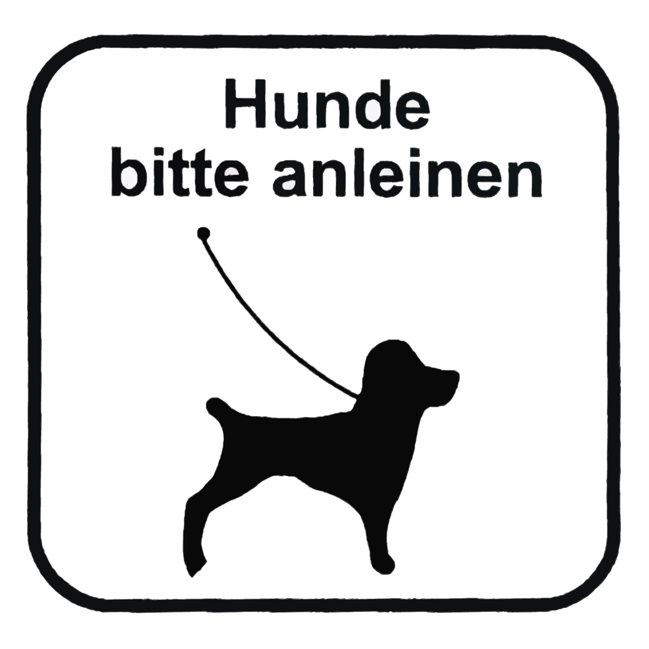 Piktogramm V20394: Hund bitte anleinen
