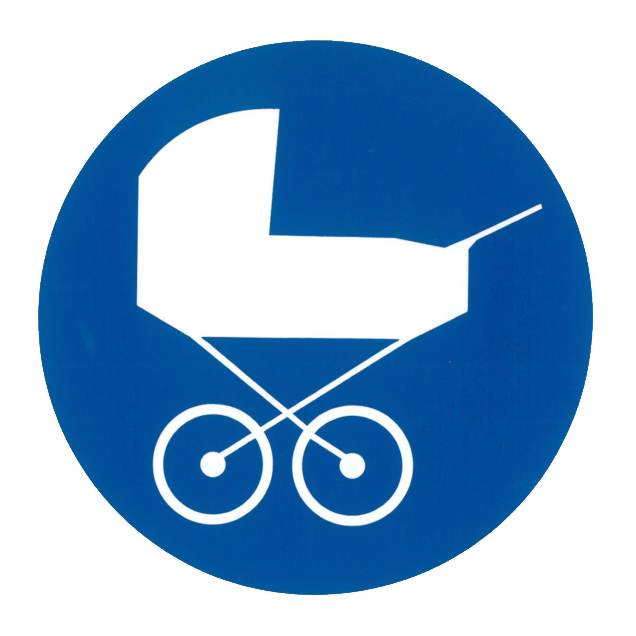 Piktogramm V20400B: Kinderwagen
