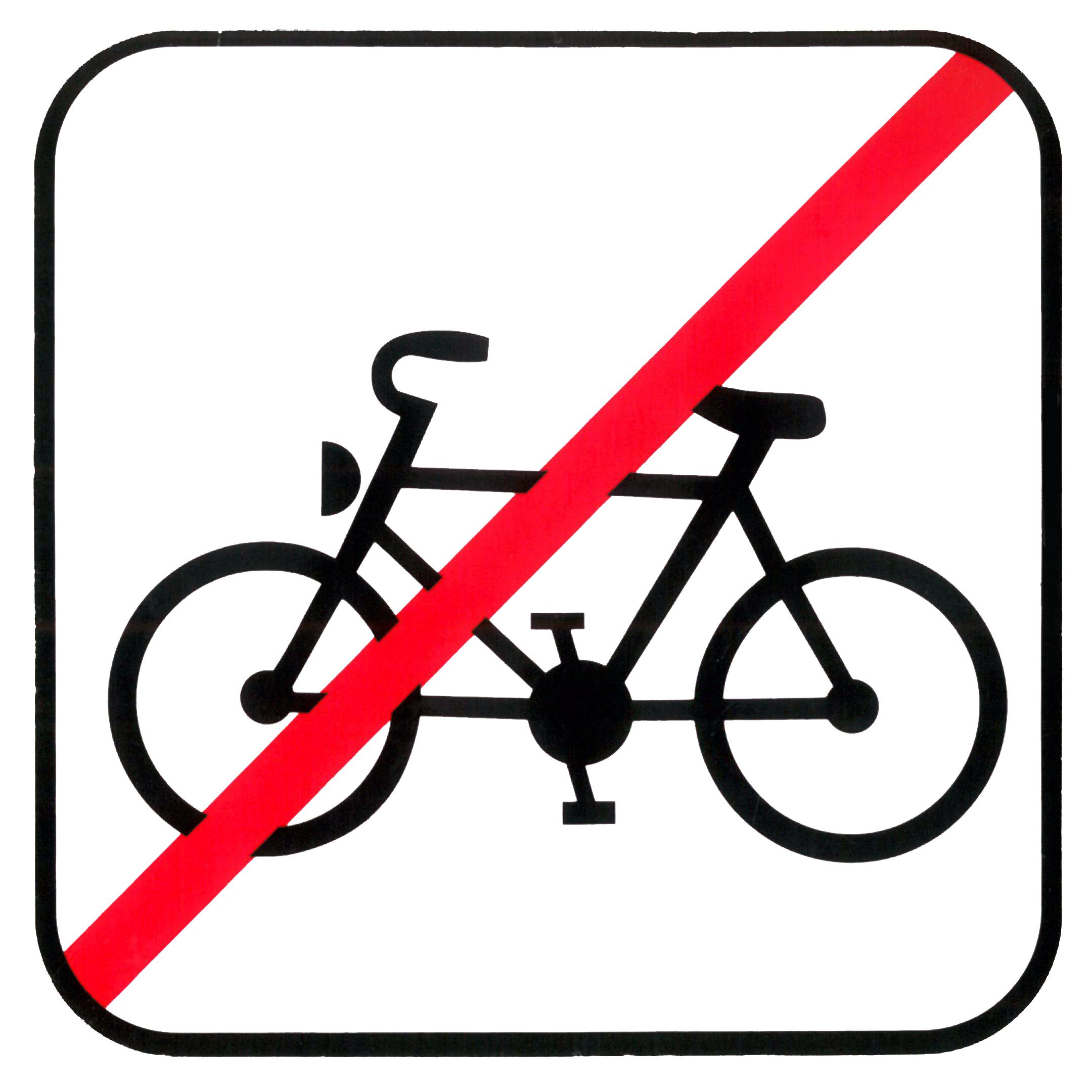 Piktogramm V20730: Einstieg mit Fahrrad verboten