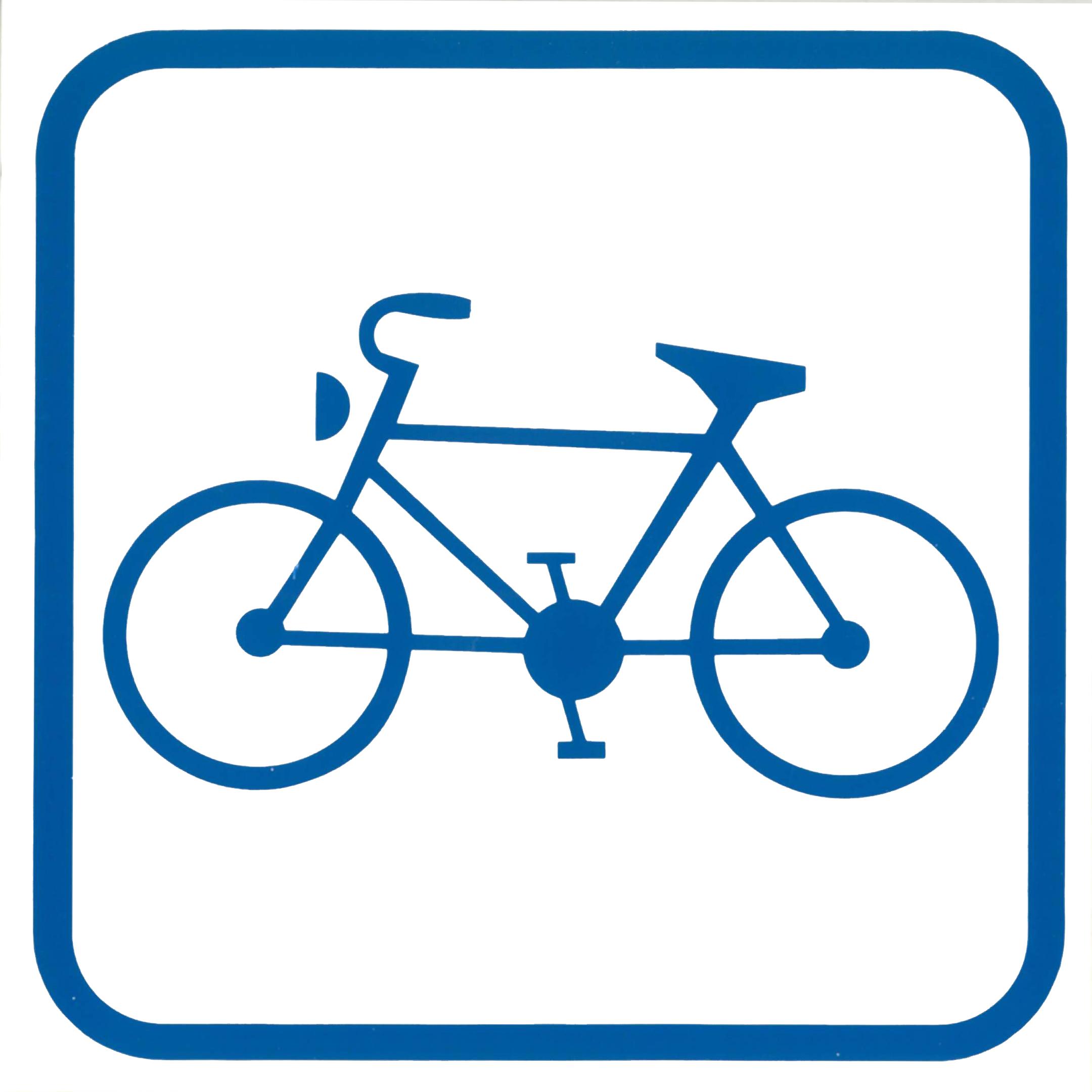 Piktogramme V20731: Einstieg mit Fahrrad