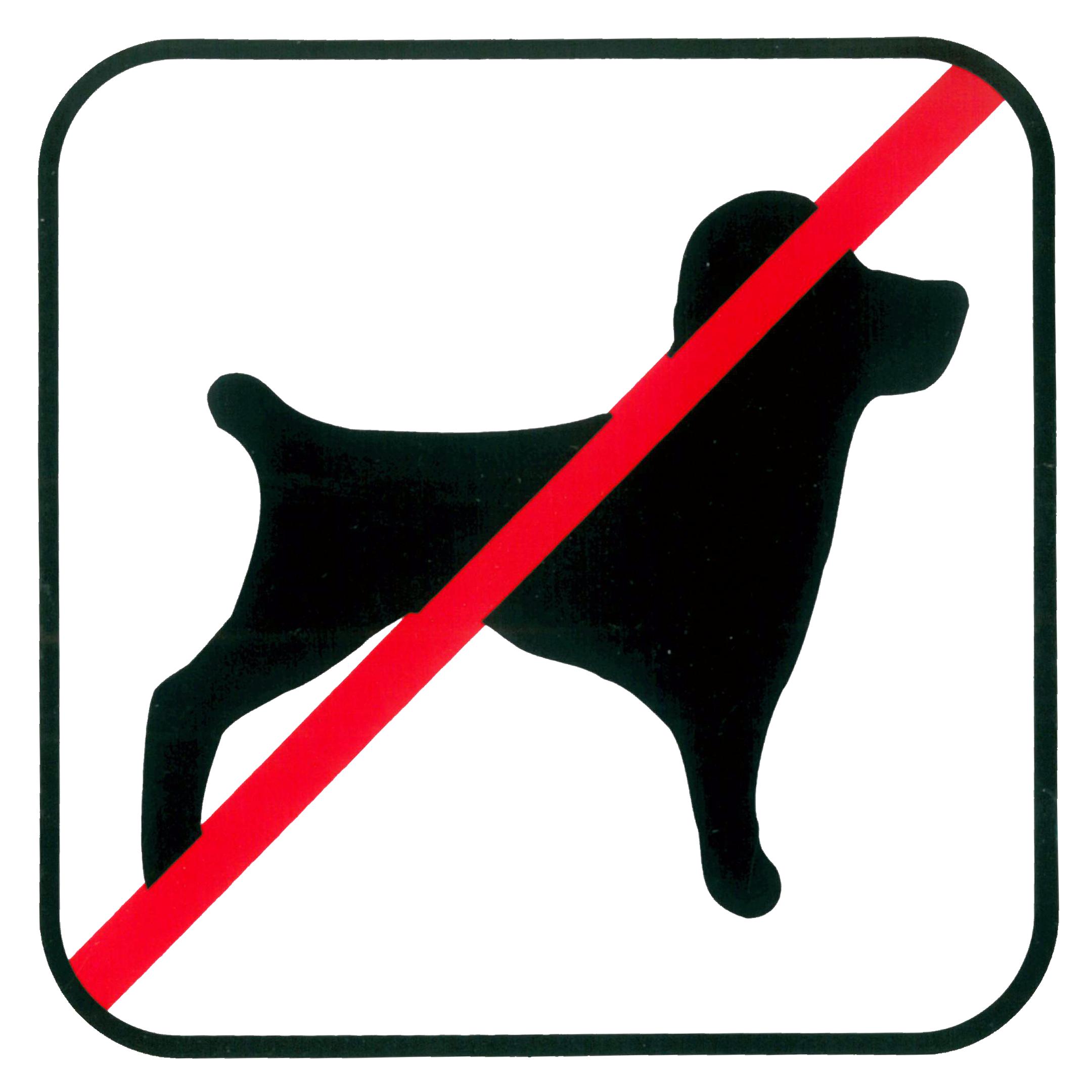 Piktogramm V20770: Verbot für Hunde