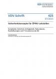 VDV-Schrift 425 Sicherheitskonzepte für ÖPNV-Leitstellen [eBook]