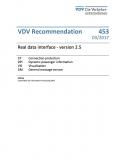 VDV-Schrift 453 Real data interface - version 2.5 [eBook]