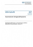 VDV-Schrift 457 Automatische Fahrgastzählsysteme ..... [Print]