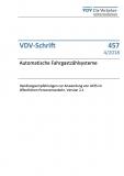 VDV-Schrift 457 Automatische Fahrgastzählsysteme ... [eBook]