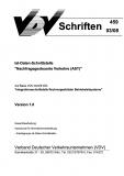 VDV-Schrift 459 Ist-Daten-Schnittstelle Nachfrageorientierte Verkehre (AST) [Print]