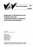 VDV-Schrift 509 Application of Residual Current Protective Circuits in Electrical Power .... [Print]