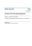 VDV-Schrift 722 Strukturiertes Störungsmanagement [Print]
