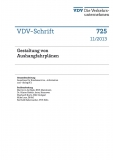 VDV-Schrift 725 Gestaltung von Aushangfahrplänen [Print]