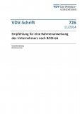 VDV-Schrift 726 Empfehlung für eine Rahmenanweisung des Unternehmens nach BOStrab [Print]