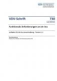 VDV-Schrift 730 Funktionale Anforderungen an icts - Leitfaden für die icts - Ausschreibung [Print]