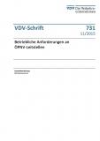 VDV-Schrift 731 - Betriebliche Anforderungen an ÖPNV-Leitstellen [Print]