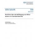 VDV-Schrift 754 Richtlinie über die Befähigung von Mitarbeitern im Eisenbahnbetrieb [Print]
