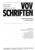 VÖV-Schrift 04.05.5 Datenfunk - Interface (BON Version)  [Print]